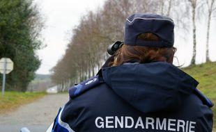 Illustration d'un contrôle de gendarmerie entre Rennes et Nantes.
