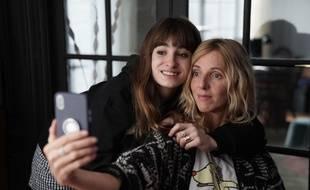 Thaïs Alessandrin et Sandrine Kiberlain dans Mon bébé de Lisa Azuelos