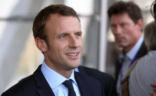 L'ancien ministre de l'Economie Emmanuel Macron