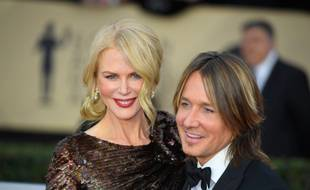 L'actrice Nicole Kidman et son époux, le musicien country Keith Urban