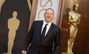 Harvey Weinstein à la cérémonie 2014 des Oscars.