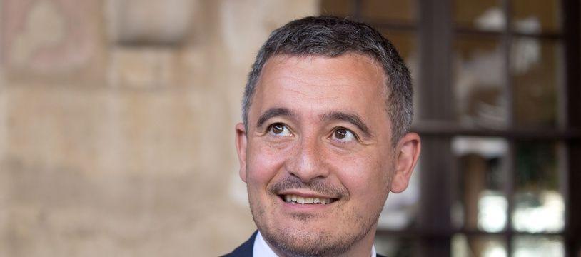 Gérald Darmanin, à Dijon le 10 juin 2021.