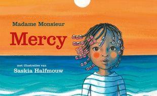 Détail de la couverture du livre «Mercy» (éd. De Eenhoorn).