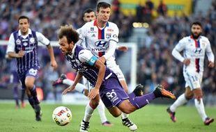 Mamana et les Lyonnais ont souffert à Toulouse, mais ils ont fini par gagner.