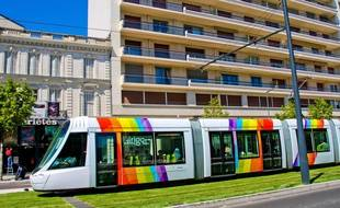 Le tramway d'Angers.