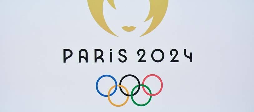 Le logo des Jeux olympiques de Paris 2024.