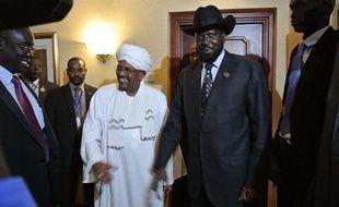 Les présidents soudanais Omar el-Béchir et sud-soudanais Salva Kiir se sont rencontrés, en tête-à-tête, samedi soir dans un hôtel d'Addis Abeba, pour la première fois depuis les combats frontaliers ayant opposé les armées des deux pays entre mars et mai.