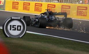 Lewis Hamilton, le 2 août 2020 à Silverstone.