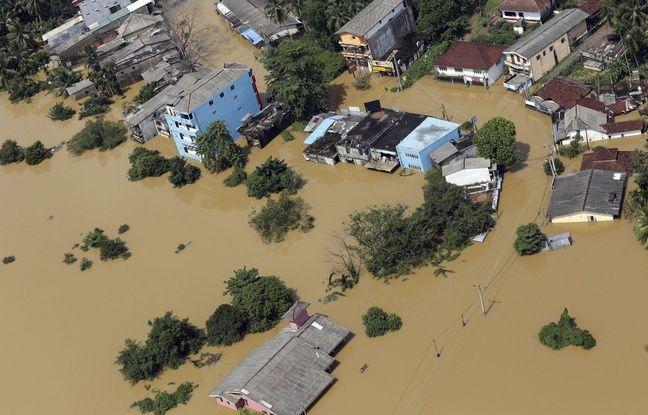 Les inondations à Kiriella,au Sri Lanka ont fait au moins 164 morts selon un dernier bilan lundi 29 mai 2017.
