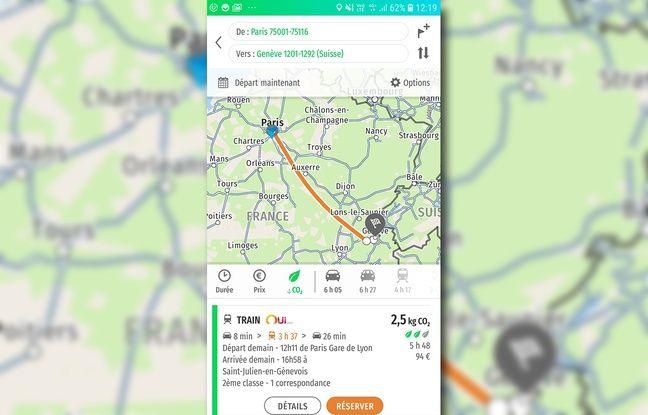 L'assistant de mobilité Mappy donne désormais l'empreinte de carbone des solutions d'itinéraire qu'elle propose aux utilisateurs.