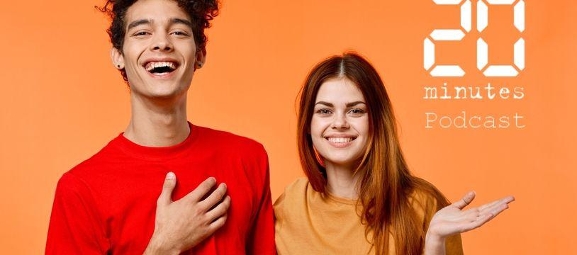 Illustration de deux personnes, d'un couple