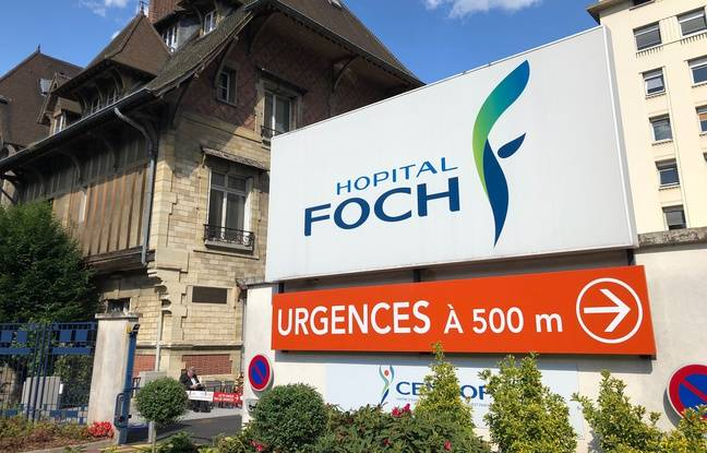 Illustration de l'hôpital Foch à Suresnes.