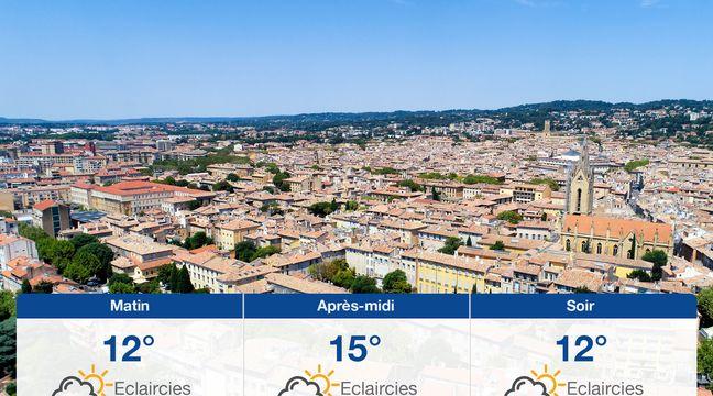 M t o aix en provence pr visions du lundi 4 mars 2019 - Prevision meteo salon de provence ...