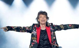 Mick Jagger à l'U Arena de Nanterre le 19 octobre 2017