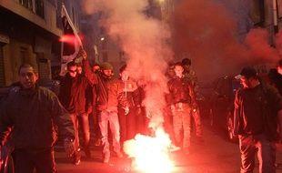 Le samedi 26 décembre 2015, des manifestants on marché jusqu'à la préfecture d'Ajaccio