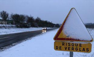 Le réseau routier secondaire était impraticable ce vendredi dans une partie de la Bretagne. Ici près de Rennes.