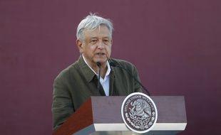Andres Manuel Lopez Obrador, le ^président du Mexique depuis décembre 2018.