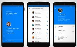 Le «dialer» Hello de Facebook peut remplacer le service par défaut d'Android.