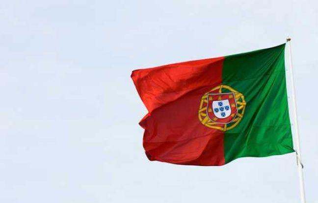 Le drapeau du Portugal à Lisbonne en août 2009.