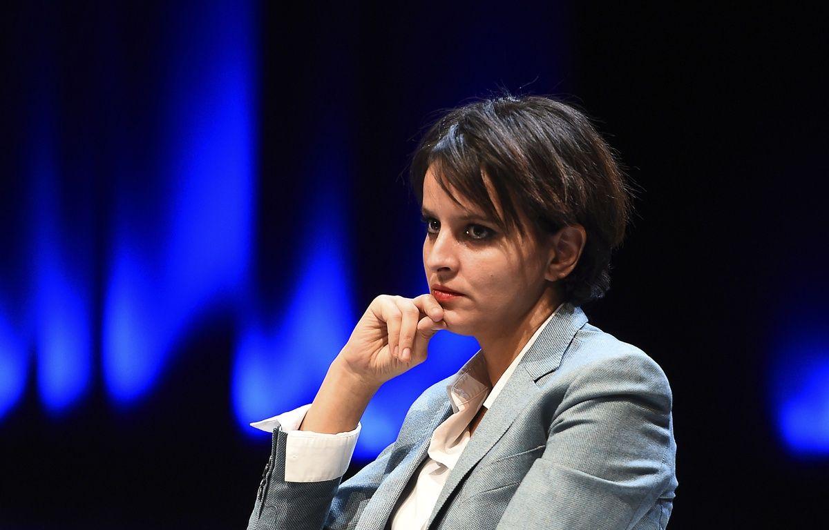 La ministre de l'Education, Najat-Vallaud Belkacem le 9 février 2015 à Aix-en rovence.  – AFP