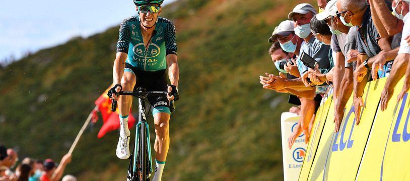 Pierre Rolland avait terminé 18e du général l'an dernier au Tour de France.