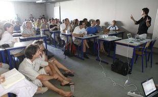 Séminaire à l'Université d'été des Verts, à Nîmes