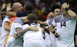 Les handballeurs français visent un troisième titre olympique de suite.