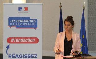Marlène Schiappa s'est présentée à Alès pour les rencontres du gouvernement
