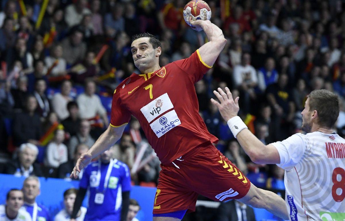 Kiril Lazarov, lors du mondial de handball disputé en France en janvier 2017. – P.Desmazes/AFP