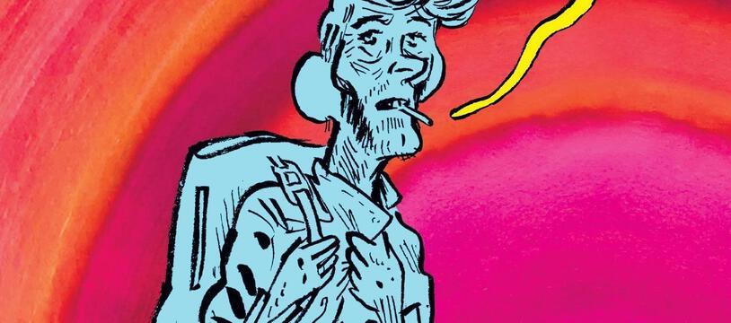 Détail de la couverture de la BD « Vernon Subutex »