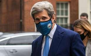 L'envoyé spécial des États-Unis pour le climat, John Kerry, à Londres le 8 mars 2021.