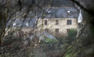 La maison de Lydie Troadec à Pont-de-Buis, dans le Finistère.