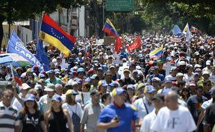 Les manifestations d'opposants au gouvernement du président Nicolas Maduro durent depuis trois mois à Caracas, au Venezuela.