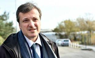 Le directeur général de Biotrial François Peaucelle le 16 janvier 2016 à Rennes