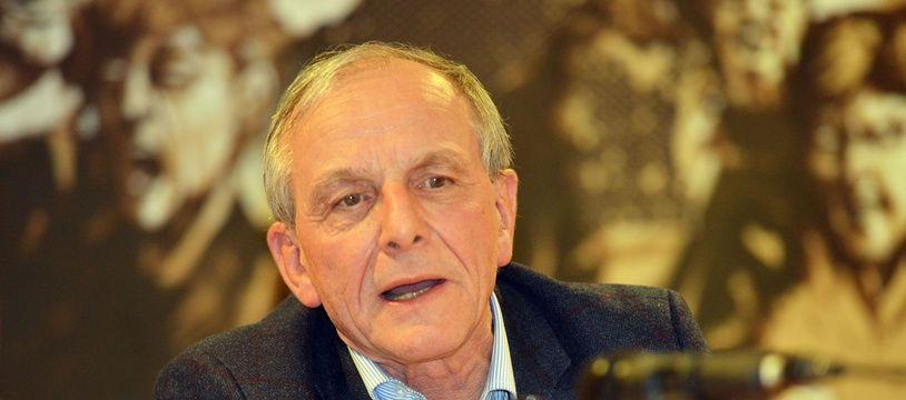 Le président de la Ligue contre le cancer, Axel Kahn, en mars 2016.