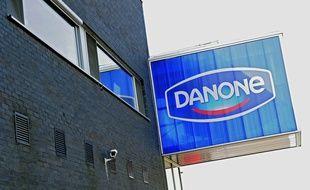 Une usine du groupe Danone en Belgique (illustration).