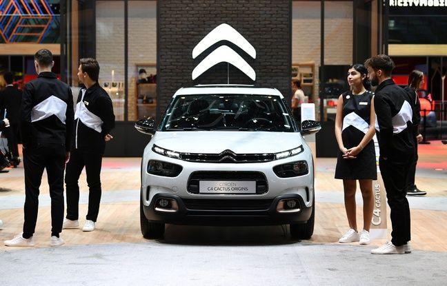 La nouvelle Citroën C4 Cactus dévoilée au Salon de l'auto de Genève 2019.
