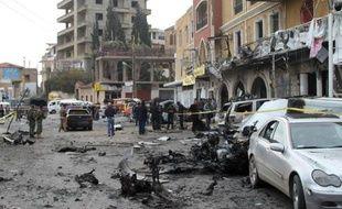 Huit personnes dont cinq enfants sont mortes vendredi dans la chute d'obus tirés de Syrie sur la ville frontalière d'Aarsal, au Liban, ont annoncé des responsables, le plus lourd bilan dans ce genre d'attaque depuis le début du conflit syrien.