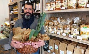 L'épicerie locavore de Bruno ne propose que des produits élaborés dans un rayon de 200 km.
