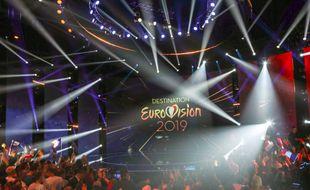 Le plateau de Destination Eurovision.