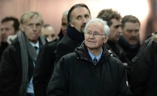 L'ancien sélectionneur de l'équipe de France, Michel Hidalgo, en février 2013