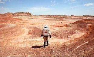 Simulation de vie sur Mars dans le désert de l'Utah.