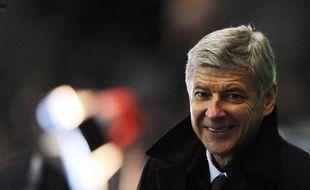 Arsène Wenger, consultant pour TF1, avant le match amical entre la France et la Belgique