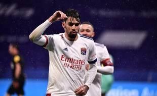 Lucas Paqueta a signé un but et une passe décisive contre Angers. JEFF PACHOUD