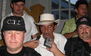 Arcedio Alvarez, lors d'une audience à Mariquita (Colombie), le 28 mars 2009.