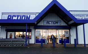 Un magasin Action, à Coquelles