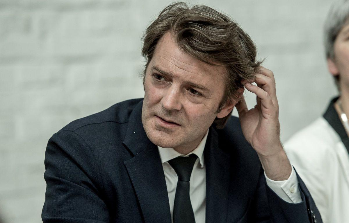 François Baroin, membre des Républicains en charge de conduire les législatives, le 11 mai 2017 à Tourcoing.  – PHILIPPE HUGUEN / AFP