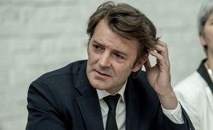 François Baroin, membre des Républicains en charge de conduire les législatives, le 11 mai 2017 à Tourcoing.