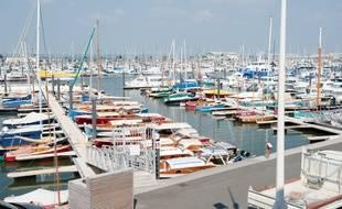Le port de plaisance d'Arcachon. - Photo : Sebastien Ortola