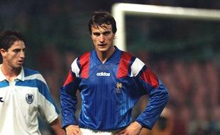 David Ginola, le bouc émissaire de France-Bulgarie.